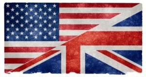 UK USA Flags
