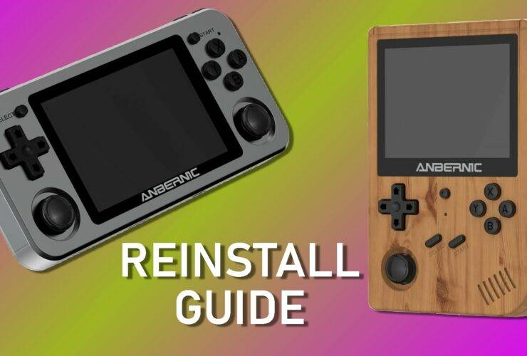 ANBERNIC Reinstall Guide - Featured Photo