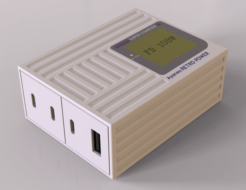 Retro Power GaN PD charger