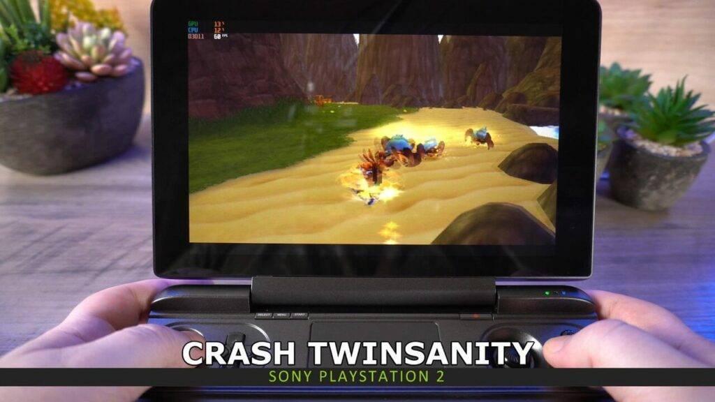 PS2 Emulation on GPD Win MAX 2021