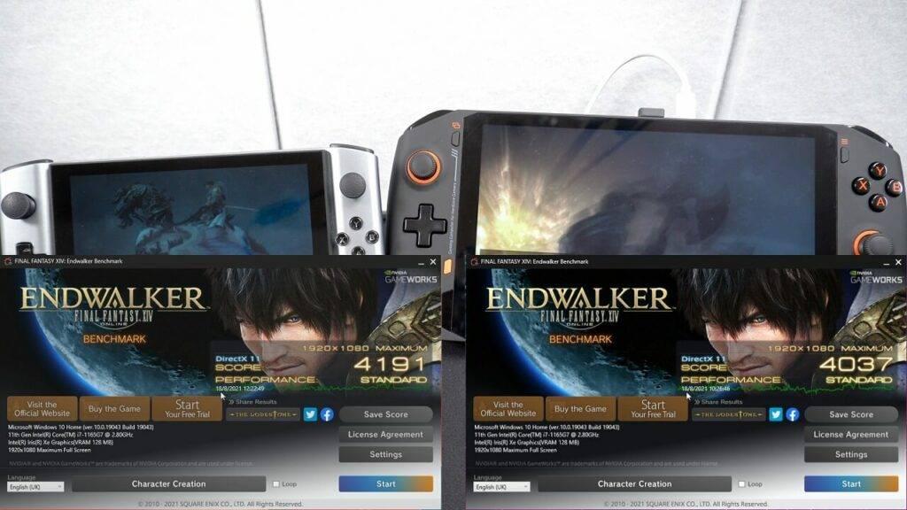 Final Fantasy XIV Endwalker Benchmark Scores