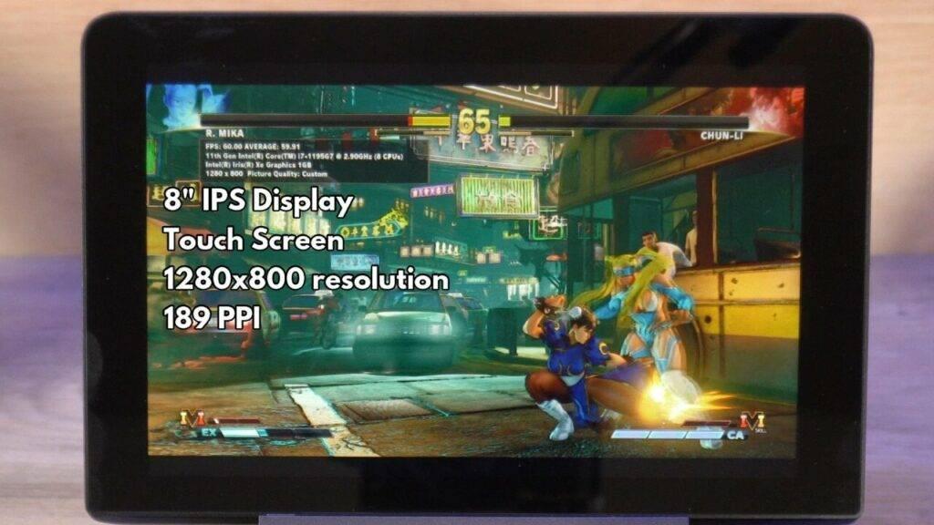 GPD Win MAX 2021 Screen