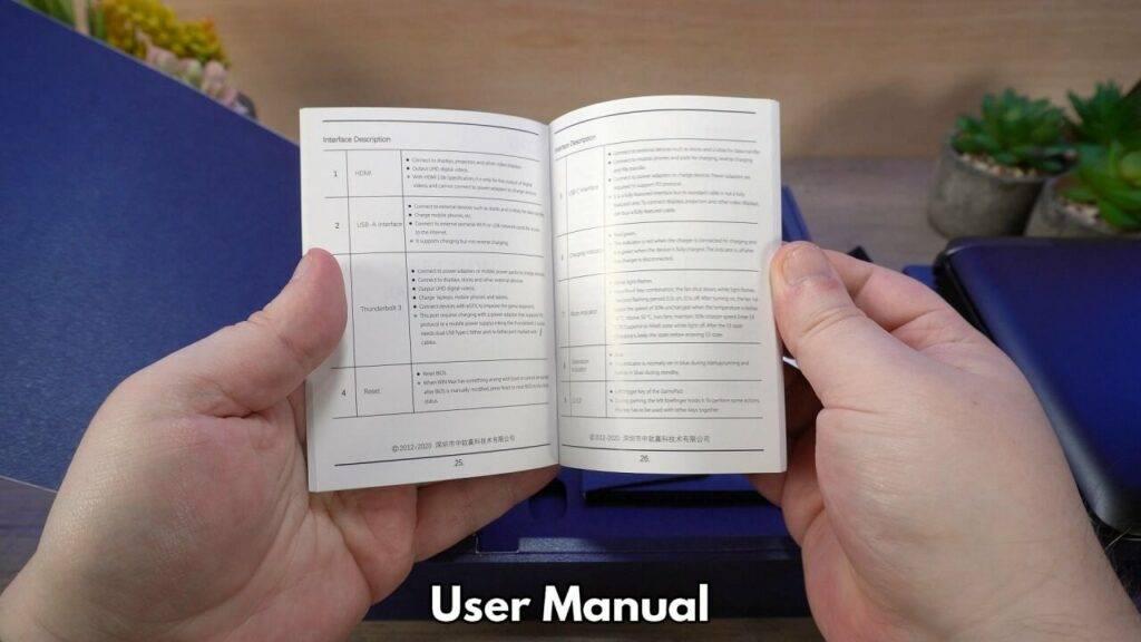 User Manual in full English