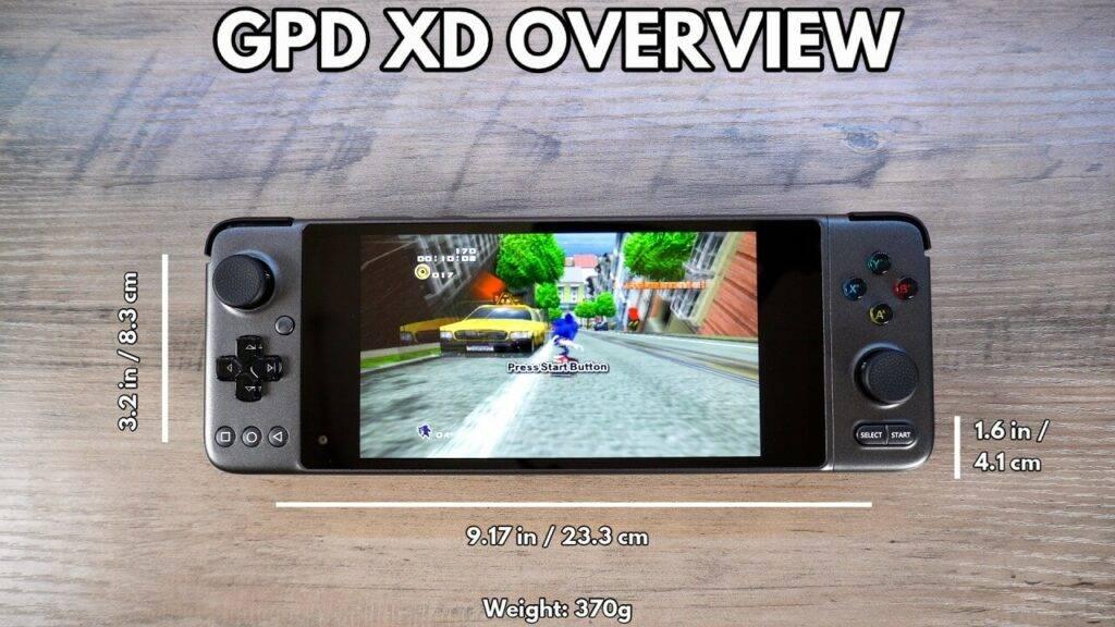 GPD XP Dimensions