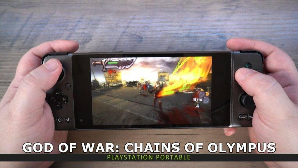 PSP emulation on GPD XP