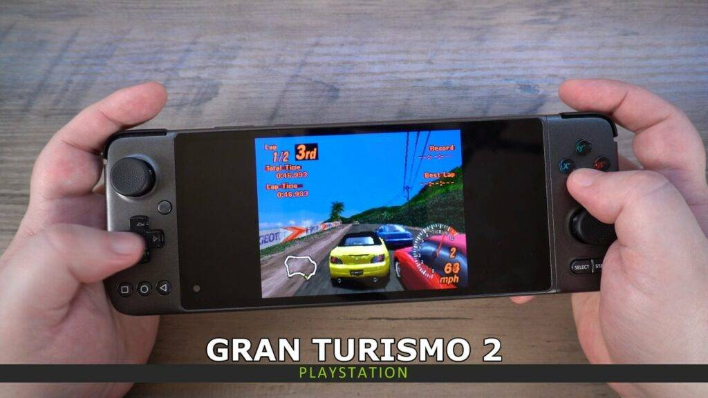 GPD XP PlayStation emulation