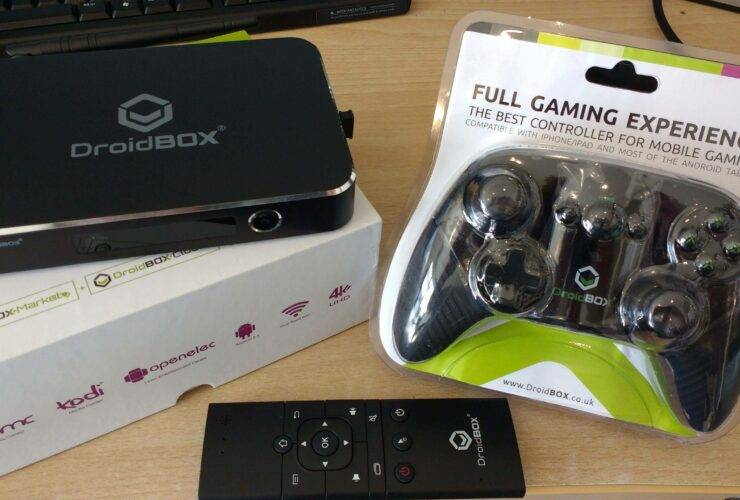DroidBOX® T8-S Plus Gamer's Edition Review Photo