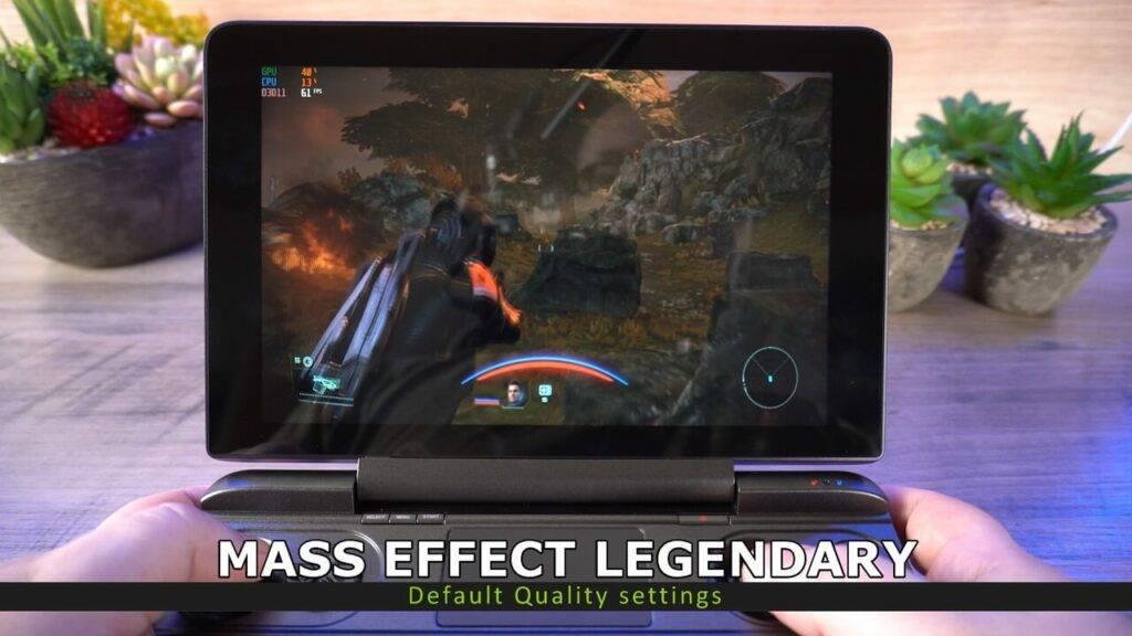 Mass Effect Legendary on GPD Win MAX 2021