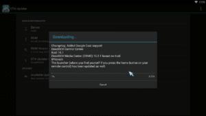 K5 M5 OTA Update Downloading