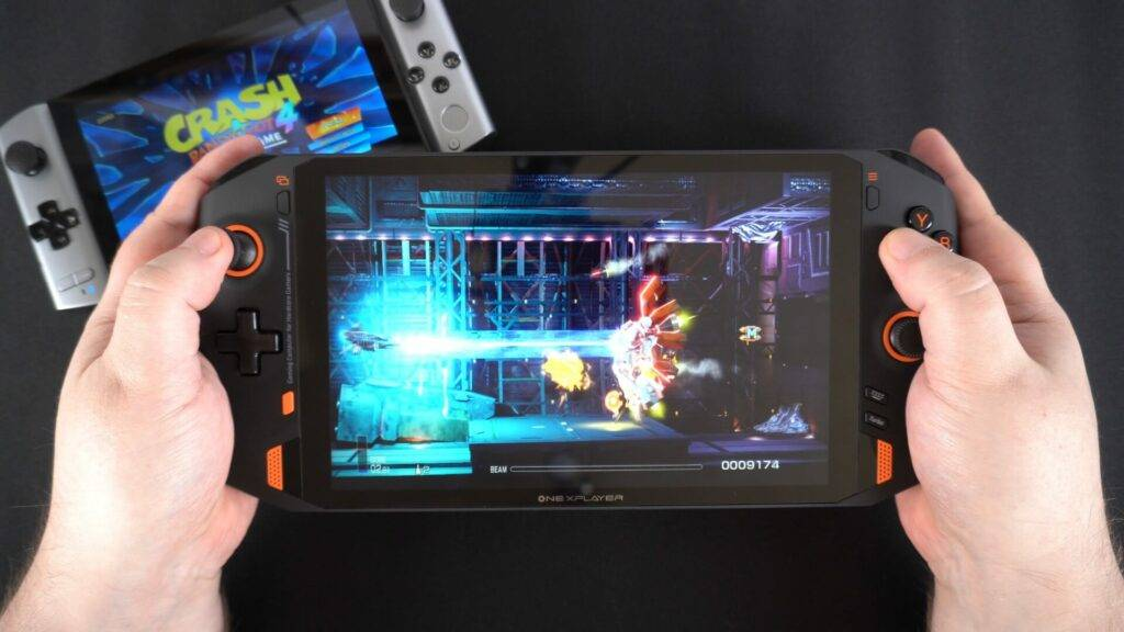 ONEXPLAYER - Large screen, but not as portable. Also great for gaming