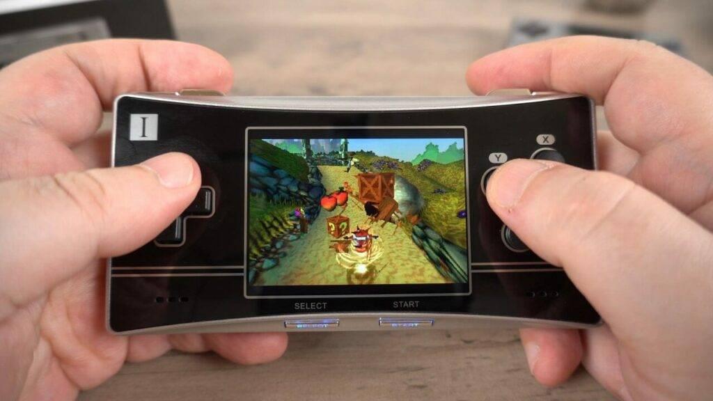 RG300X PlayStation emulation