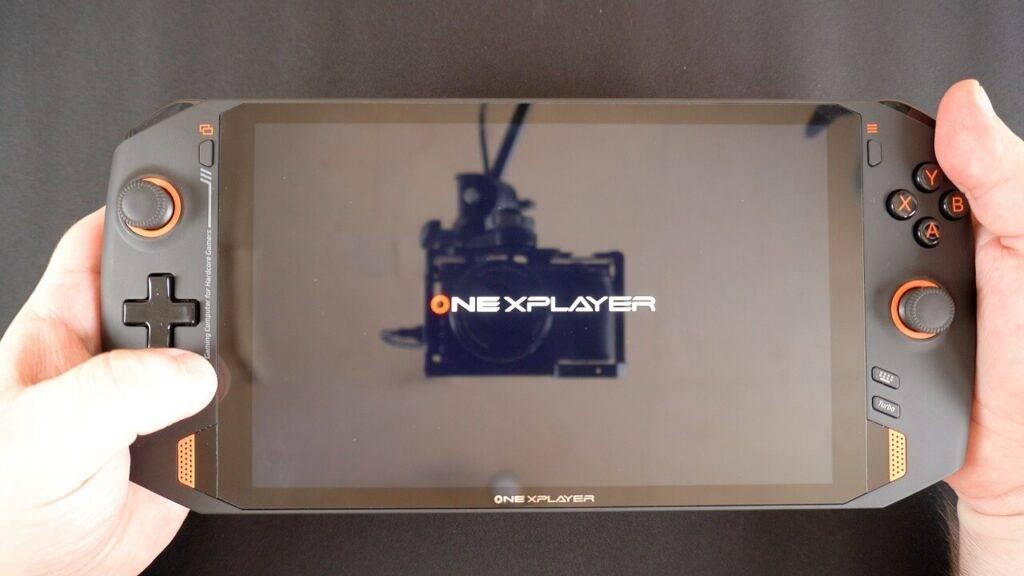 ONEXPLAYER 1S Boot Logo