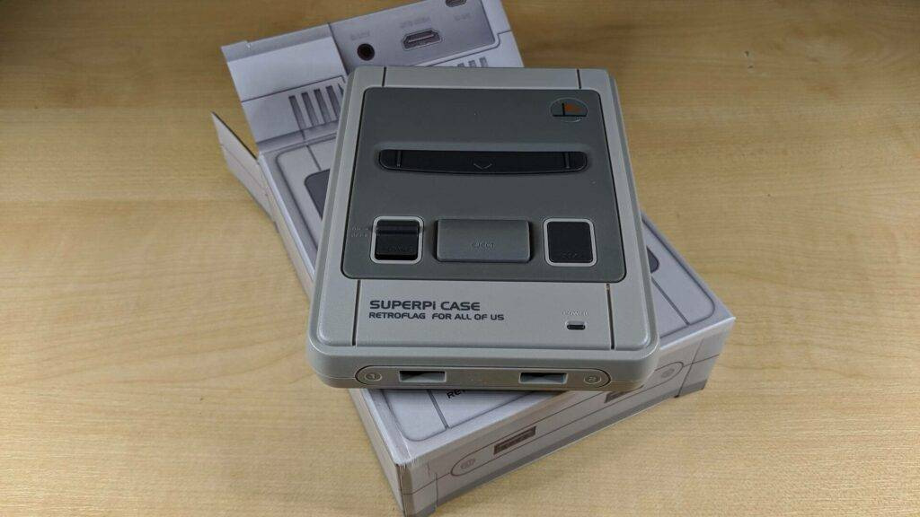 Retro Gaming System Console S Line