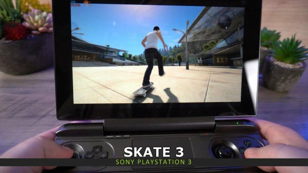 PS3 emulation on GPD Win MAX 2021
