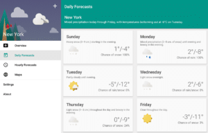 Simple Weather Android App