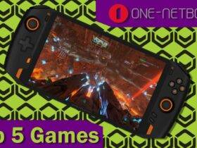 OneXPlayer 1S Top 5 Games