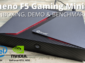 Stheno F5 Review Gaming Mini PC with Windows 10 Unboxing, Benchmarks and Demo