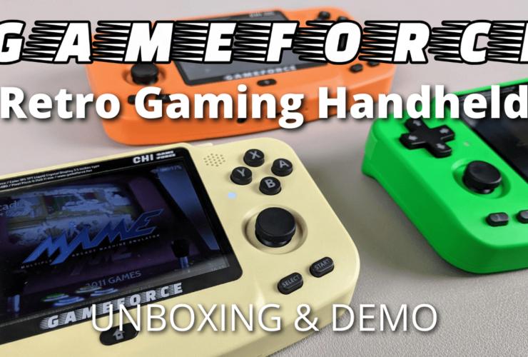 Gameforce Review - A 2021 Retro Gaming Handheld