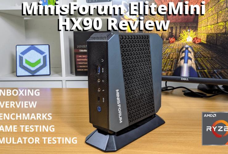 MinisForum EliteMini HX90 Review