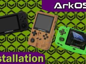 ArkOS on RG351 - Banner