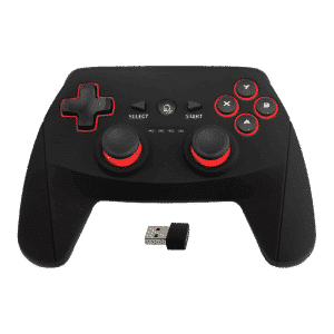 DroiX R1 Gamepad with Dongle - Shown from the Front