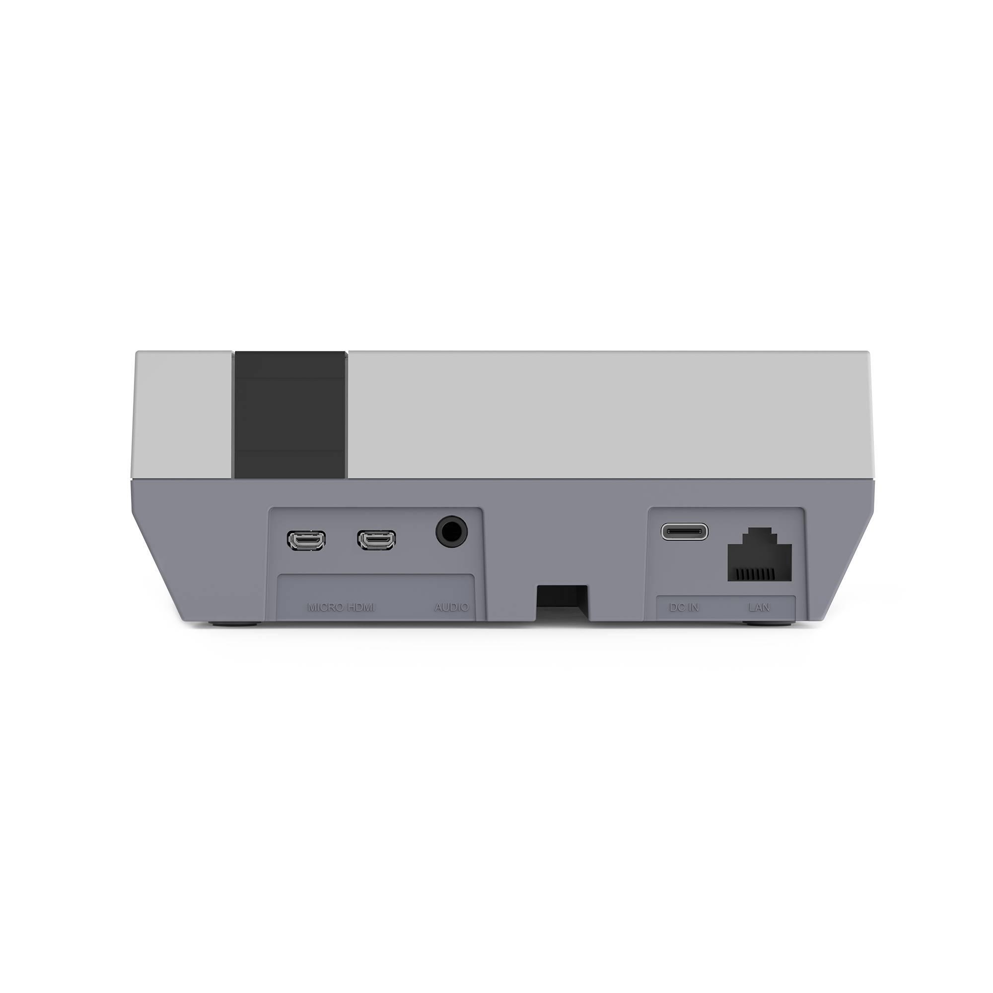 RETROFLAG NESPi 4 DIY Starting Kit for RetroPie Home Console - Showing the NESPi 4 from the back
