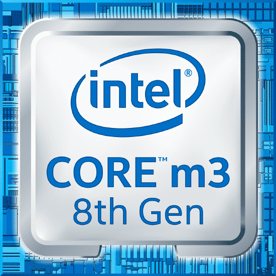 8th gen core m3 8100Y