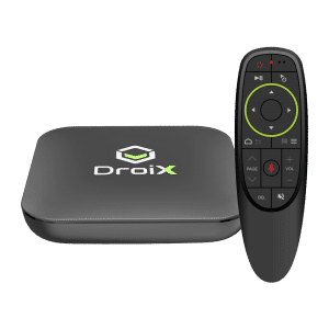 DroiX X3 with G10 Air-Mouse - Front View
