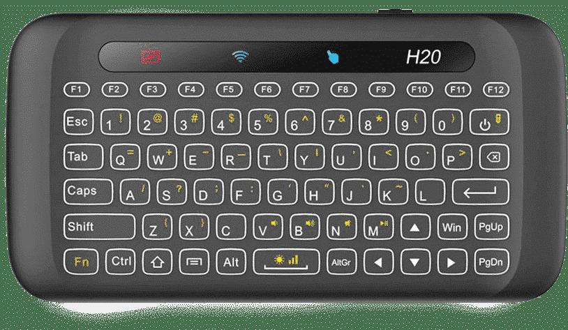 H20 Mini Keyboard Front