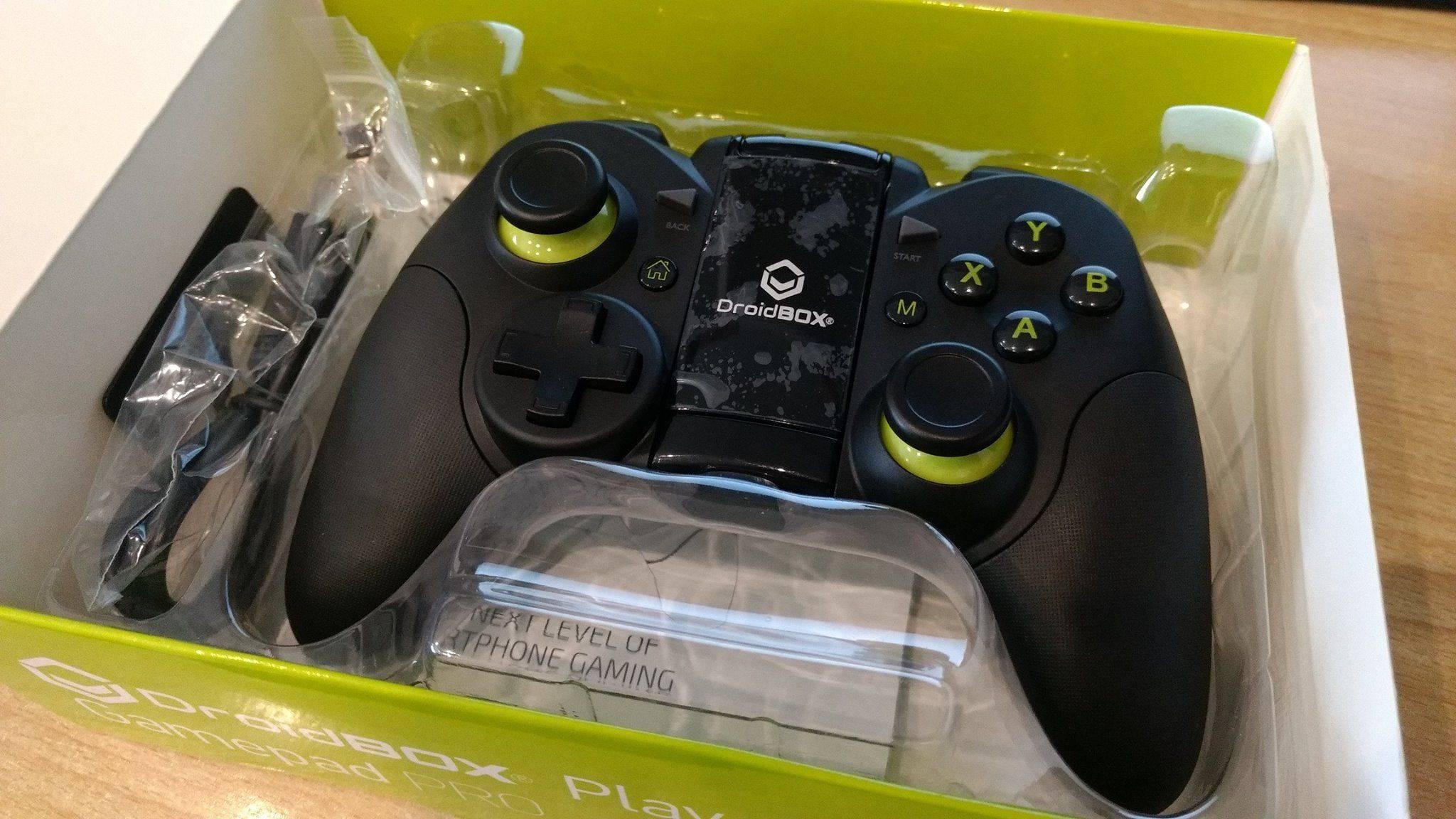 DroidBOX® Play Pro Gamepad