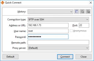 Connection Details