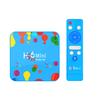 H96 Mini Android 9 Allwinner H6 4GB RAM 128GB Storage Android BOX HTPC - Front view