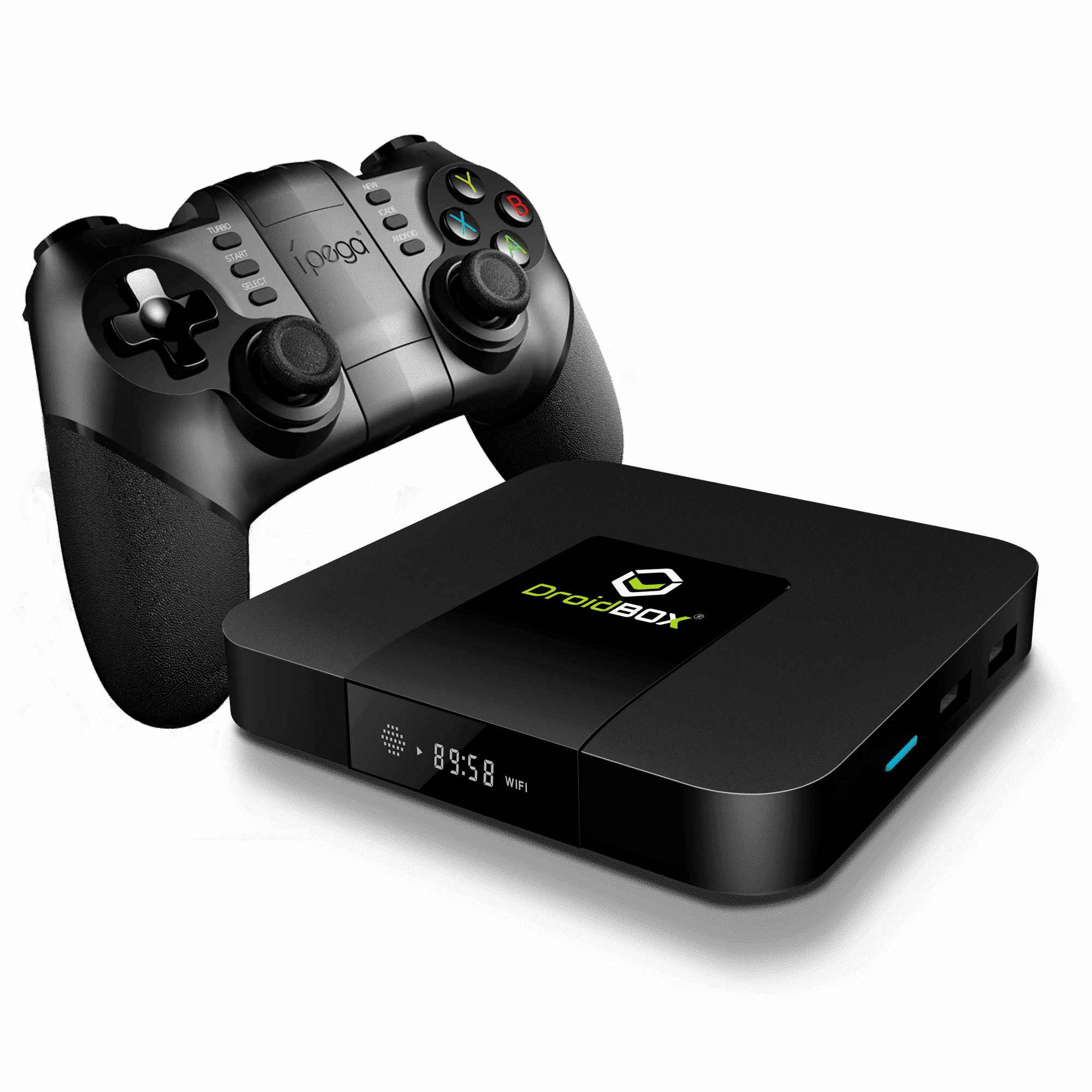 iMXQpro Mini Retro-Gaming Edition with the iPega 9076 Wireless Gamepad
