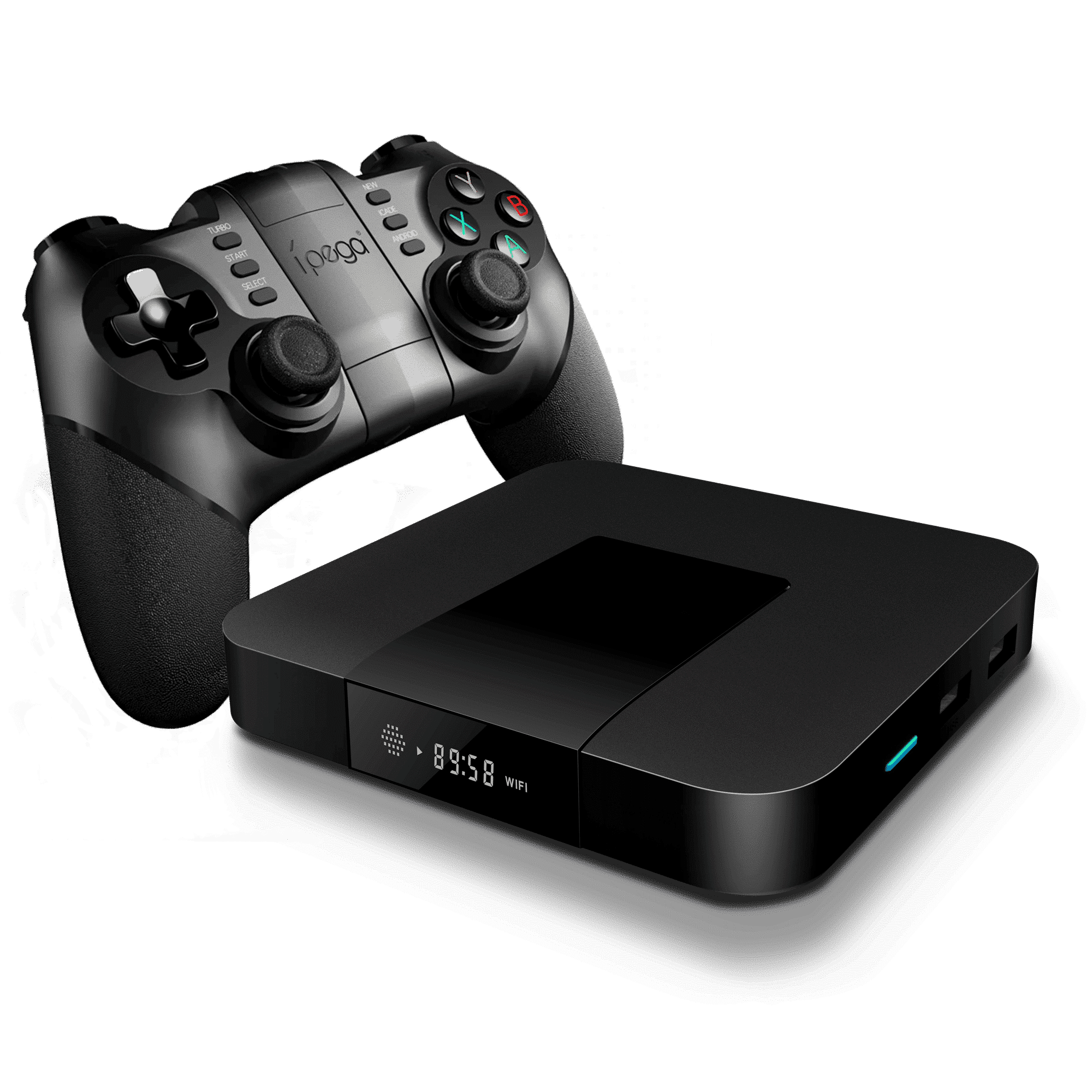 iMXQpro Mini Retro-Gaming Edition with the iPega 9076 Wireless Gamepad