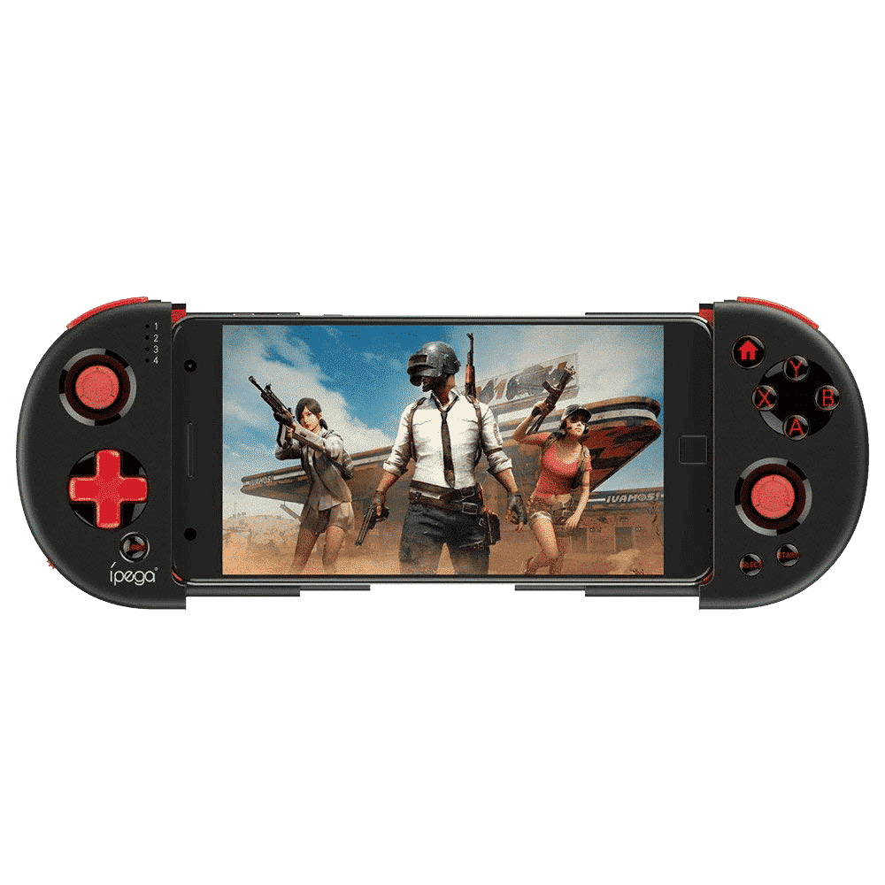 iPega 9087 Bluetooth Gamepad connected to a Smartphone playing PUBG