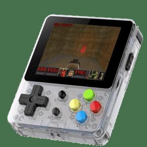 Bittboy LDK Retro Gaming Console Transparent - Playing DOOM