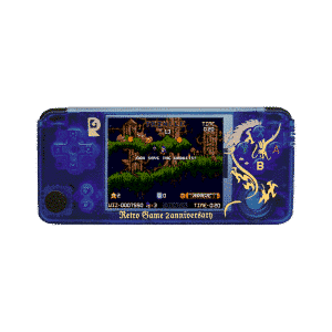 RS 97 Plus V3 - Anniversary Edition OpenDingux Retro Gaming Handheld - Front Facing