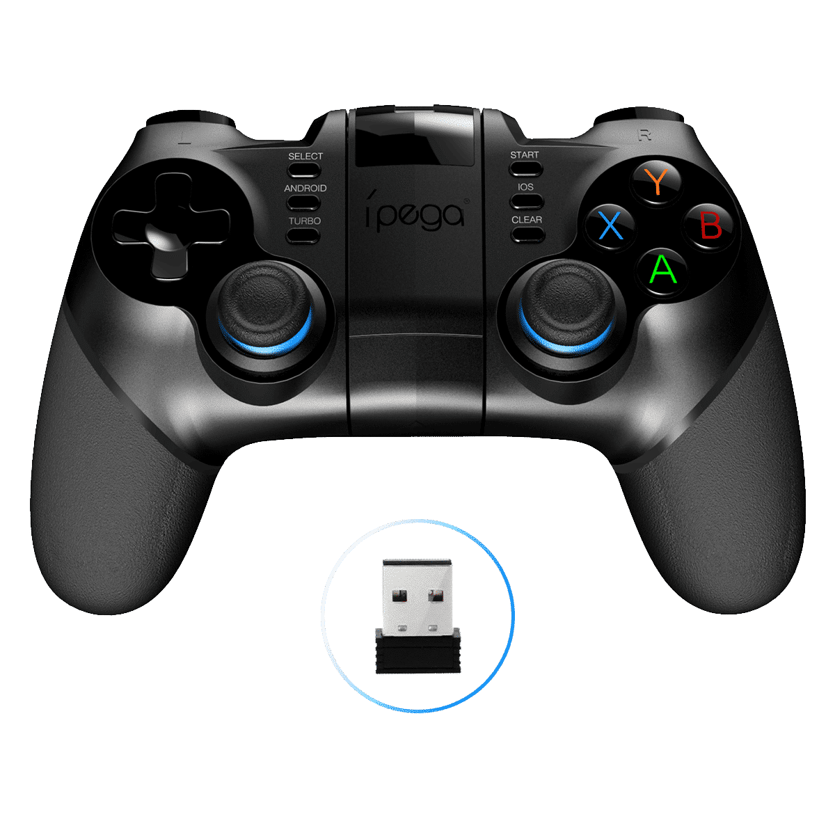 iPega PG-9156 Bluetooth and 2.4Ghz wireless Gamepad for Android, Windows and iOS - 2.4Ghz dongle