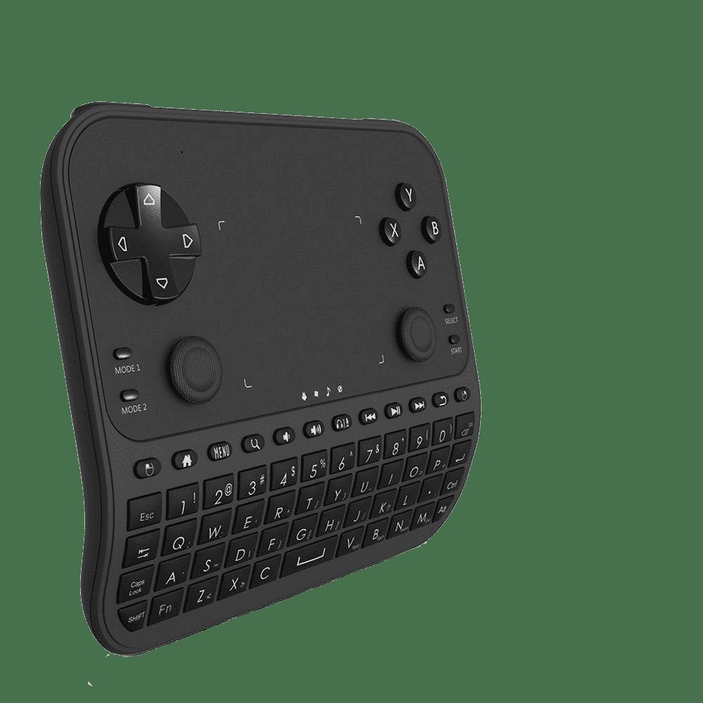 U6 Mini Keyboard with Gaming Functions at an angle
