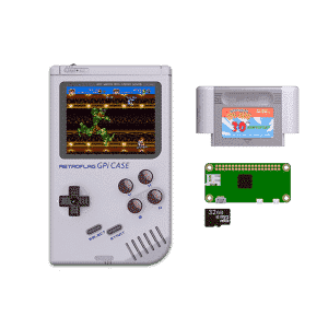RETROFLAG GPi Case with Raspberry Pi Zero W and 32GB Micro SD Card