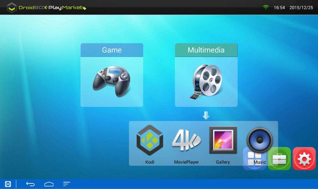 2-DBPM-Multimedia menu