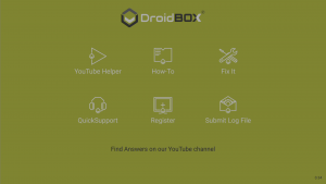DroidBOX® Control Centre
