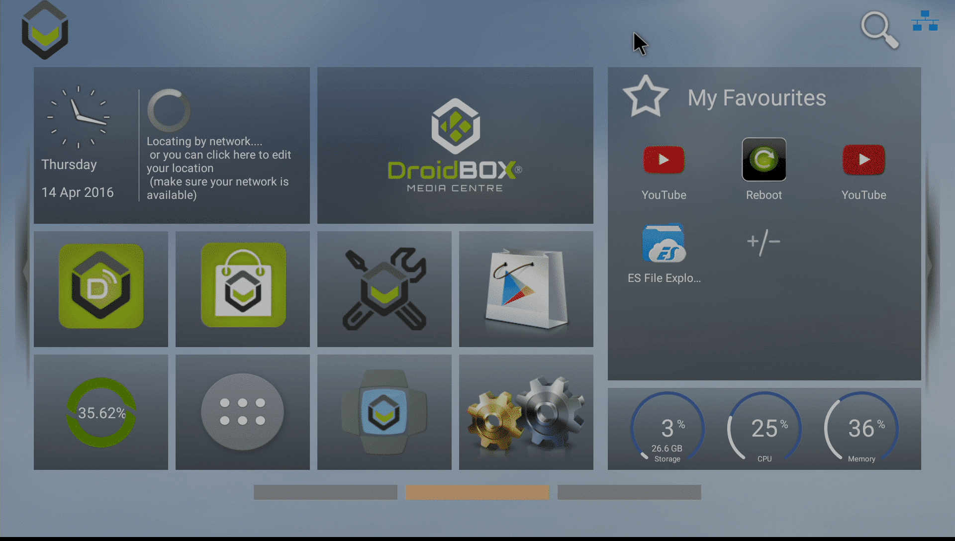 DBXTronLauncher DroidBOX® T8-S Plus