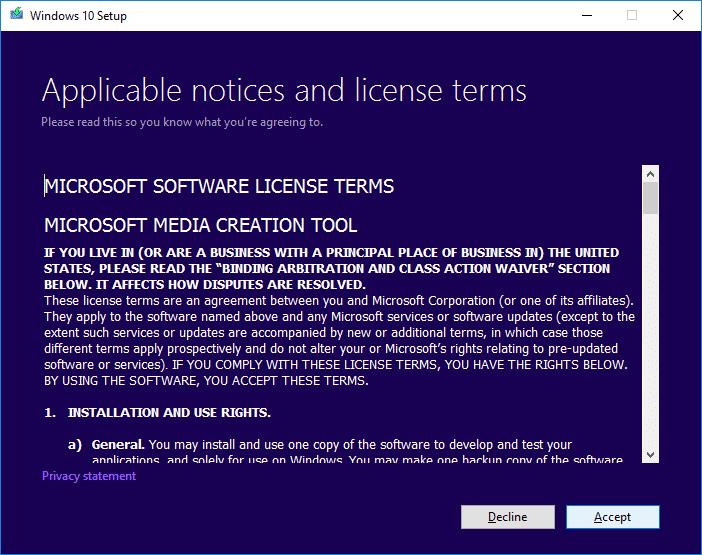 2 Accept Windows 10 Anniversary Update