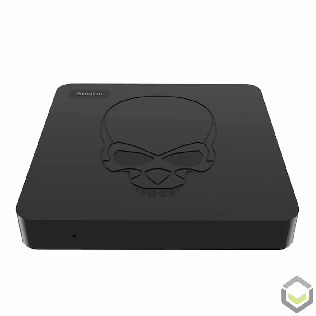 GT King by DroiX AMLogic S922X Android 9 Pie Powered TV Mini PC HTPC - Front View