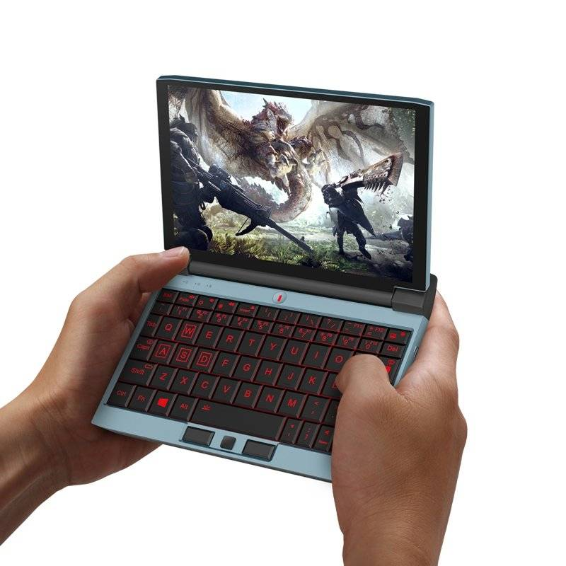 One Netbook OneGx1 Gaming Handheld - Playing an MMORPG Game