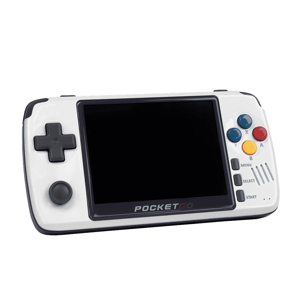 BITTBOY PocketGo v2.1 (Latest Version) - Showing Display and Gaming Buttons