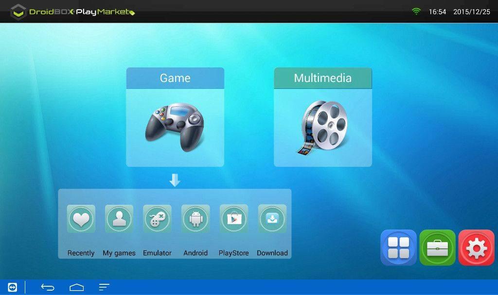 3-DBPM-Game menu