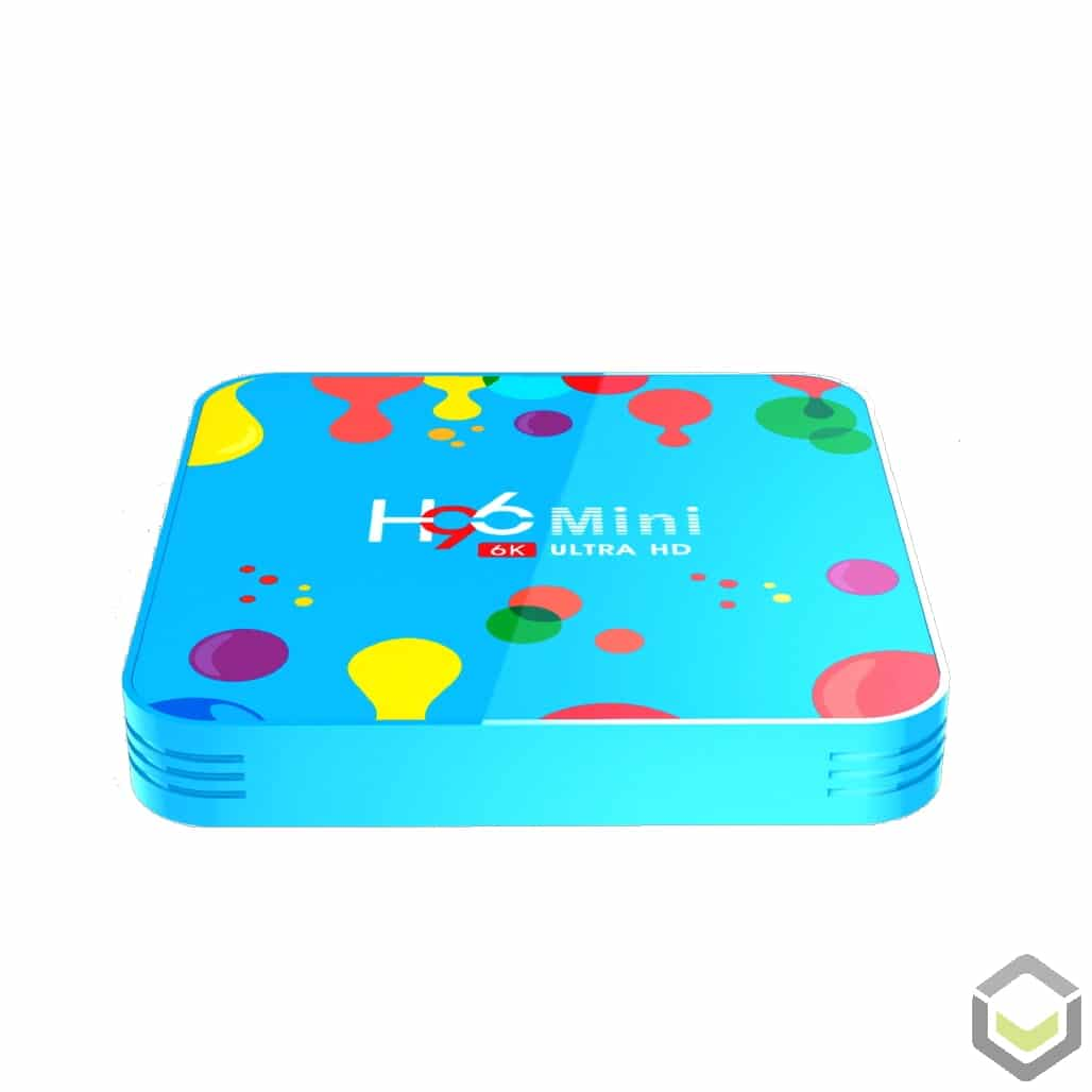 H96 Mini Android 9 Allwinner H6 4GB RAM 128GB Storage Android BOX HTPC - Device Top