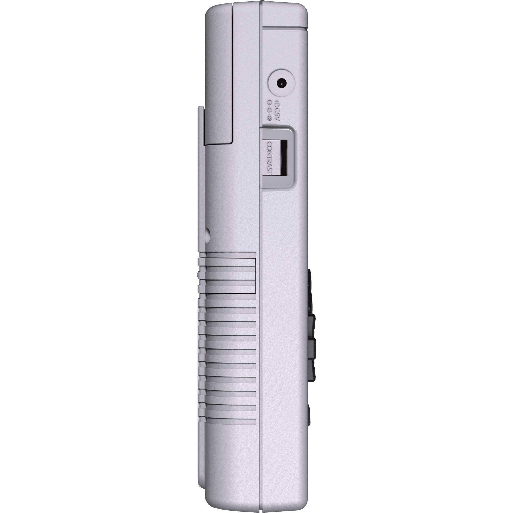 RETROFLAG GPi Case showing left side Volume rocker and Power Plug